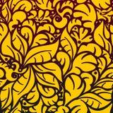 Seamless floral pattern 5.1(3).jpg Royalty Free Stock Photo