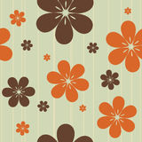 Seamless floral pattern. Seamless pattern with flowers, vector illustration Royalty Free Stock Photography