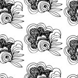 Seamless floral pattern abstract Royalty Free Stock Photography