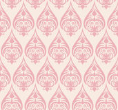 Seamless floral pattern. Abstract seamless decorative floral background in rich colors Stock Photography