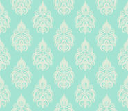 Seamless floral pattern. Abstract seamless decorative floral background in rich colors Stock Photos