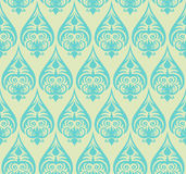 Seamless floral pattern. Abstract seamless decorative floral background in rich colors Royalty Free Stock Images