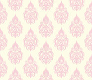 Seamless floral pattern. Abstract seamless decorative floral background in rich colors Stock Image