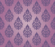 Seamless floral pattern. Abstract seamless decorative floral background in rich colors Stock Images
