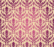 Seamless floral pattern. Abstract seamless decorative floral background in rich colors Royalty Free Stock Photography