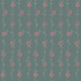 Seamless floral pattern with abstract roses flowers. Vector eps1 Stock Photos
