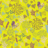 Seamless floral pattern. background Stock Photography