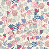 Seamless floral pattern . background Stock Photography