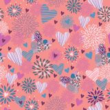 Seamless floral pattern . background Stock Photos