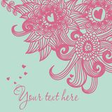 Seamless floral pattern . background Stock Photo