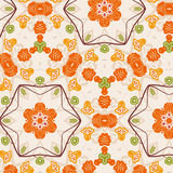 Seamless floral pattern background Royalty Free Stock Image