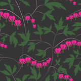 Seamless floral pattern background flowers ornament textile  Stock Image