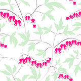 Seamless floral pattern background flowers ornament wallpaper te Royalty Free Stock Photo