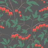 Seamless floral pattern background flowers ornament wallpaper  Stock Photography