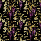 Seamless floral pattern background flowers ornament wallpaper  Stock Photos