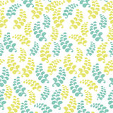 Seamless floral pattern background Stock Photos