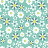 Seamless floral pattern background Royalty Free Stock Photo