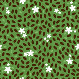 Seamless floral pattern background Royalty Free Stock Photos