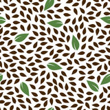 Seamless floral pattern background Royalty Free Stock Images