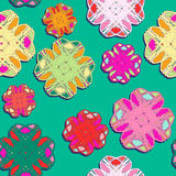 Seamless floral pattern background. Summer floral garden seamless pattern Royalty Free Stock Photography