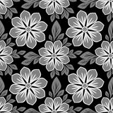 Seamless floral Pattern with beautiful Flowers Royalty Free Stock Image