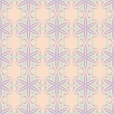 Seamless floral pattern. Beige violet and blue background. For wallpapers, textile and fabrics Royalty Free Stock Images