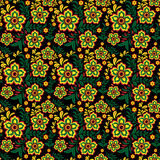 Seamless floral pattern 3 Stock Photos