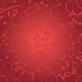 Seamless floral pattern on blurred background. Eps-10 stock illustration