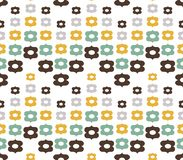 Seamless floral pattern. It can be used for wallpaper, pattern fills, textile design Stock Images