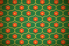 Seamless floral pattern on the cardboard Stock Photos