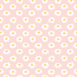 Seamless floral pattern with chamomiles Royalty Free Stock Photo