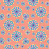 Seamless Floral Pattern. Abstract Background Stock Photo