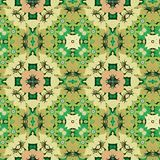 Seamless Floral Pattern. A completely seamless pattern that will tile across the background area of your design royalty free stock photography