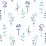Seamless floral pattern. Stock Image