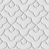 3d seamless floral pattern. For wallpaper e.g. Seamless floral pattern, 3D, computer generated. E.g. for wallpaper or wrapping paper Royalty Free Illustration