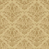 Seamless floral pattern. Damask seamless pattern for design. Vector Illustration stock illustration