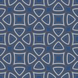 Seamless floral pattern. Dark blue background with flower designs. For wallpapers, textile and fabrics stock illustration
