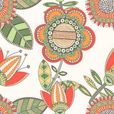 Seamless floral pattern, decorative background Stock Image