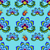 Seamless floral pattern. Seamless pattern from decorative flowers Royalty Free Stock Images