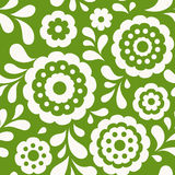 Seamless floral pattern. Ethnic background with abstract flowers. Stock Images
