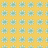 Seamless floral pattern for fabric Royalty Free Stock Photography