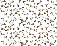 Seamless Floral Pattern. Fabric, ornament Royalty Free Stock Image