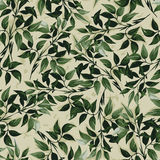 Seamless floral pattern with ficus leaves Royalty Free Stock Photography