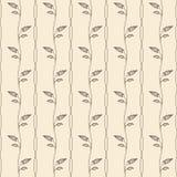 Seamless floral pattern. Flat style. Vector illustration. stock illustration