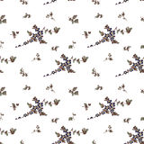 Seamless floral pattern, flower Royalty Free Stock Photos