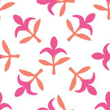 Seamless floral pattern with flowers stock illustration