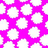 Seamless floral pattern with flowers Stock Photo