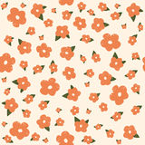 Seamless floral pattern. Flowers texture. Stock Image