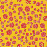 Seamless floral pattern flowers texture background. Royalty Free Stock Images