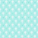 Seamless floral pattern. Flowers texture for boy. Stock Image